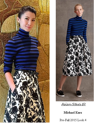 ed1eee510a750 The Dream Makers 2 - Jeanette Aw  Michael Kors Pre-Fall 2015 Look 4