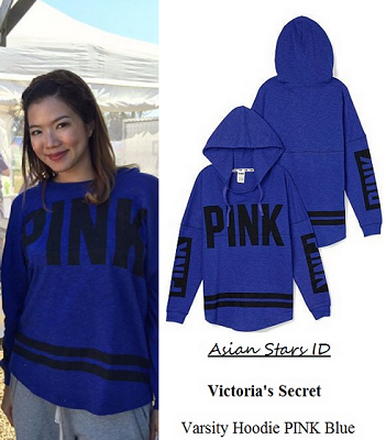 f9dd9c243cc The Dream Makers 2 - Rui En Victoria s Secret Varsity Hoodie PINK Blue