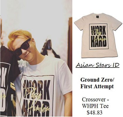 Instagram - Ian Fang: Ground Zero/First Attempt Crossover - WHPH Tee $48.83