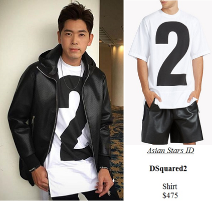 Peace & Prosperity Press Conference - Romeo Tan: DSquared2 Shirt $475