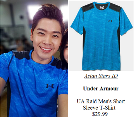 Instagram - Romeo Tan: Under Armour UA Raid Men's Short Sleeve T-Shirt $29.99