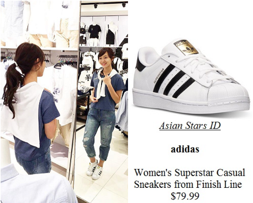 pretty nice 410b0 55d7e adidas womens superstar casual sneakers from finish line