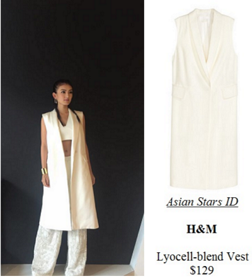 The Truth Seekers Press Conference - Hong Ling: H&M Lyocell-blend Vest $129